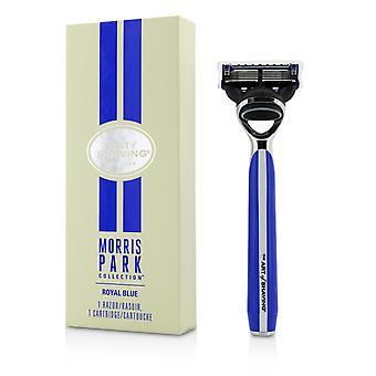Morris Park Collection Razor   Royal Blue 1pc