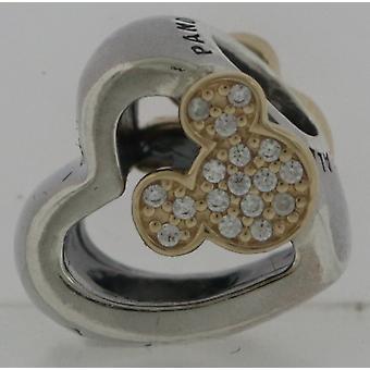 Pandora Silver & 14K Mickey a Minnie Myš Charm Darčeková sada B800647