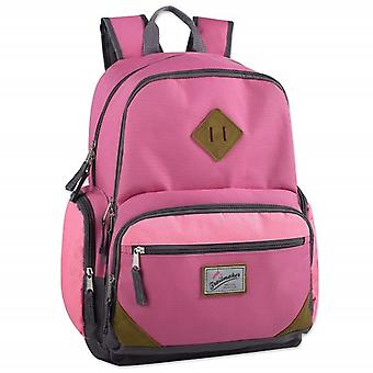 Trailmaker Pink Duo Compartment Backpack with Laptop Sleeve