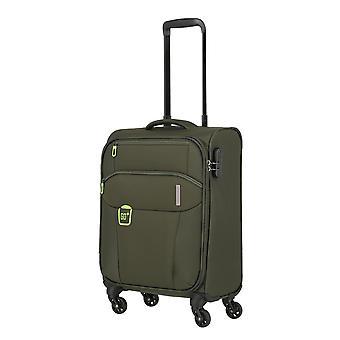 travelite Go Handbagage Trolley S, 4 wielen, 55 cm, 33 L, groen