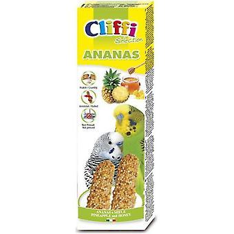 Cliffi Pineapple Bars Perico / honey 2Pz/60Grs Cliffi (Birds , Bird Treats)