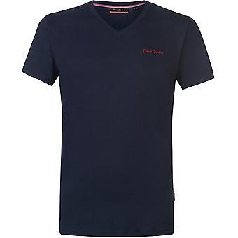 Pierre Cardin V cuello camiseta hombres