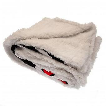 Fulham FC Sherpa Fleece Blanket