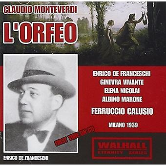 L'Orfeo [CD] USA import