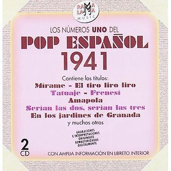 Los Numeros 1 Del Pop Espanol 1941 [CD] USA import