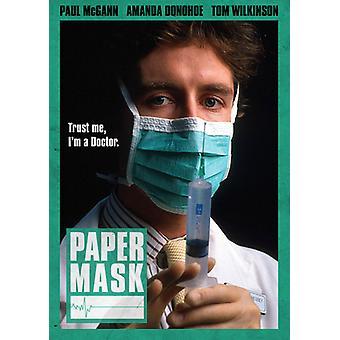 Papir maske [DVD] USA importerer