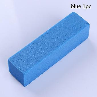 White Nail Buffers Sanding Block Buffing, Grinding Polishing Block Nail File