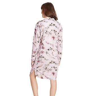 Féraud High Class 3201199-16353 Women's Multicolour Flowers Cotton Nightdress