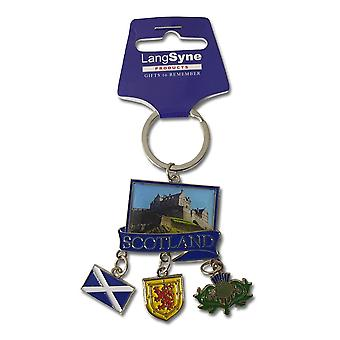 Lang Syne Publishers Ltd Scotland Metal Charm Keyring