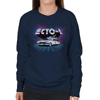 Ghostbusters Ecto 1 retro 80 ' s kvinnor ' s tröja