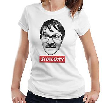 Friday Night Dinner Jim Shalom Kvinnor & apos, s T-shirt