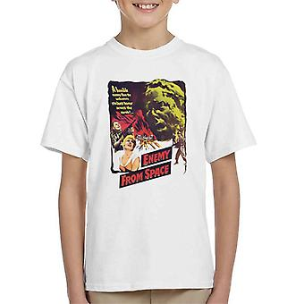 Hammer skräckfilmer Quatermass 2 fiende från Space Kid ' s T-shirt