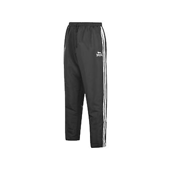 Lonsdale 2 Stripe Open HemWoven Pants Mens