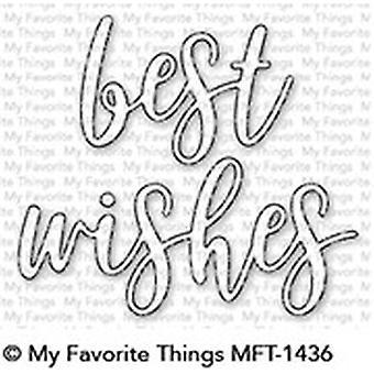 Moje ulubione rzeczy Najlepsze życzenia Die-Namics