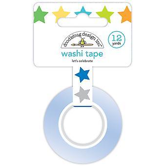 Doodlebug Design Let's Celebrate Washi Tape