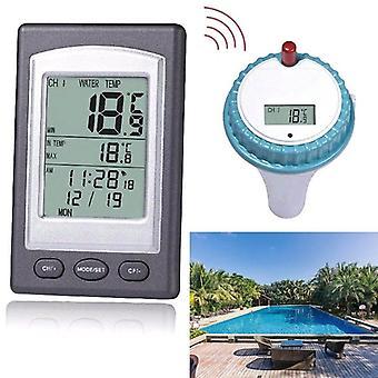 אלחוטי בריכה מדחום אמבט עיסוי בית שחייה ספא טמפרטורת מים מד