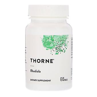 Thorne Research, Rhodiola, 60 Capsules