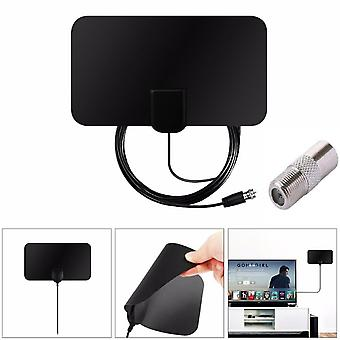 HD Digital TV Antenna F Male with IEC Adapter