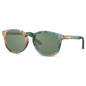 النظارات الشمسية المرأة القط البيضاوي. 3 أزرق /أخضر
