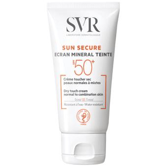 SVR Sun Secure Tinted Mineral Cream Normal and Combination Skin SPF50 +