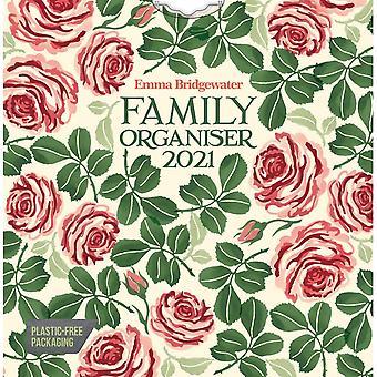 Carouselcalendars 2021 Wall Calendar-emma Bridgewater Pink Roses Organiser