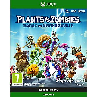 Plants Vs Zombies Battle For Neighborville Xbox One Game