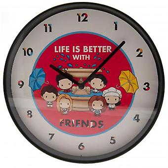 Friends Wall Clock Chibi
