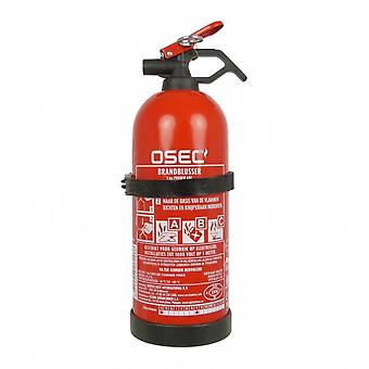 fire extinguisher ABC with holder 1kg red 29.4cm