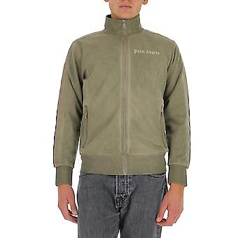 Palm Angels Pmbd001f20fab0036161 Homme-apos;s Green Cotton Sweatshirt