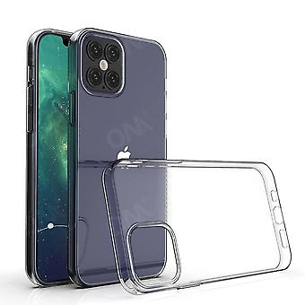 Caja para Iphone 12 / Mini / Pro / Pro Max Tpu Silicon Clear Fitted Bumper Soft Case para Iphone 12 Pro Max Transparent Back Cover