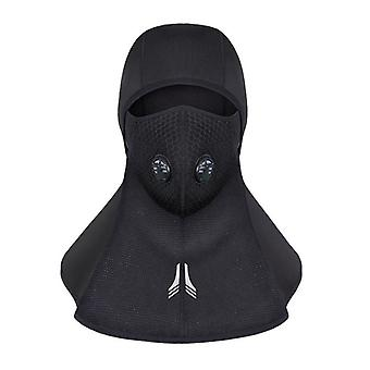 Cycling Lycra Face Mask Head Covers Zipper Balaclava