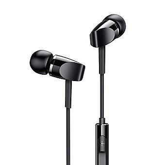 Joyroom JR-E209 Universal Metal Bass Earphone 3.5mm Wired Headphones