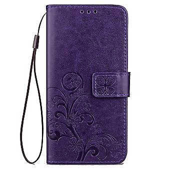 Leather Case for Sony Xperia XA2 Ultra Purple BEFOSPEY-36