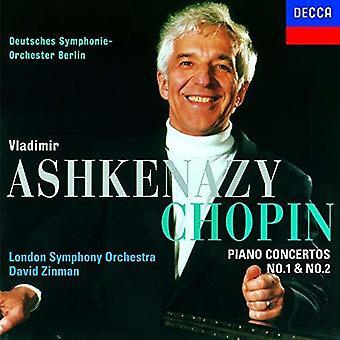 Chopin: Piano Concertos 1 & 2 [CD] USA import