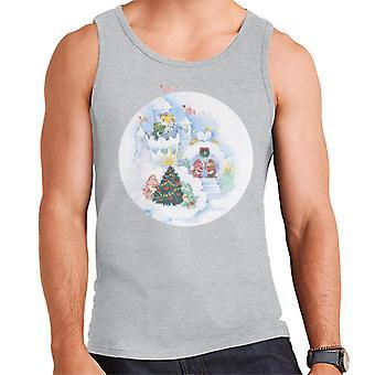 Care Bears Christmas Snow Castle Men's Vest