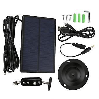 Solar Panel Charger External Powered, Power Supply, Hunting Camera Photo Traps