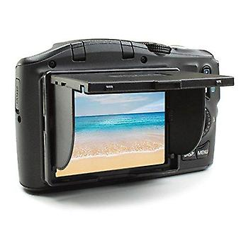 Enhance dslr camera lcd screen sun shade hood for 3 inch viewfinders, pop-up and foldable screen pro