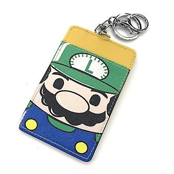 PU leather Coin Purse Cartoon anime wallet --Super Mario # 646