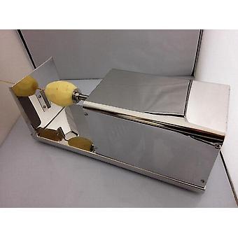 Macchina elettrica per patate Tornado, trucioli di taglio a spirale