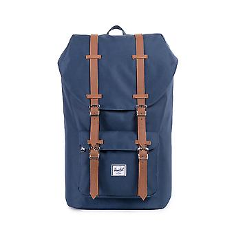 Herschel Little America Backpack Navy Tan