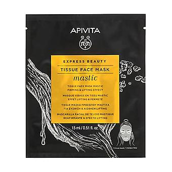 Express Beauty Tissue Face Mask Mastic Firming & Lifting Effect with Mastic 15 ml