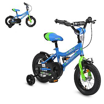 Byox Kinderfiets 12 inch Racing, Support Wheels Reflectors Bell, Metal Frame