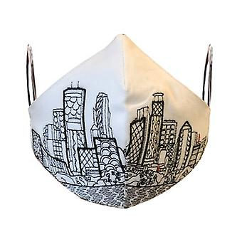 Minneapolis Embroidered Skyline Fashionable Face Mask