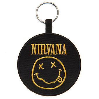 Nirvana Woven Keyring
