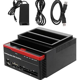 "Usb3.0 To Sata Ide External 2.5""/3.5"" Hdd Hard Drive/docking Station Card"