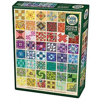 Cobble hill puzzle - common quilt blocks