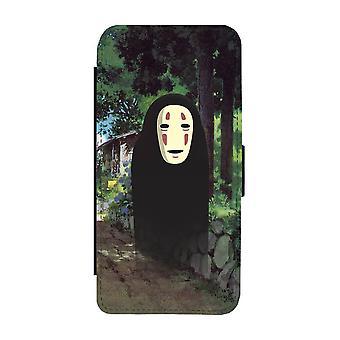 Anime Spirited Away Kaonashi iPhone 12 Pro Max Wallet Case