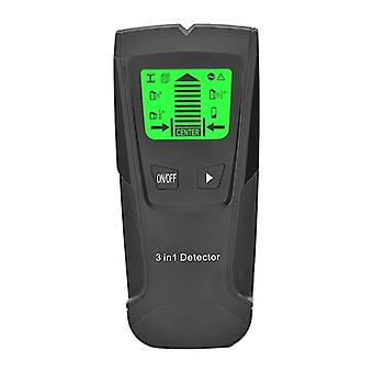 Metal Detector, Wood Studs Ac Voltage, Live Wire Detect, Wall Scanner, Electric