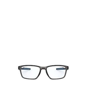 أوكلي OX8153 الساتان الرمادي دخان النظارات الطبية الذكور