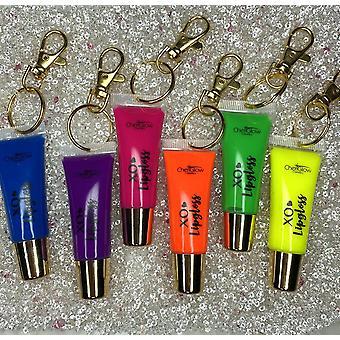 Neon Samling - Nøkkelring Lipgloss
